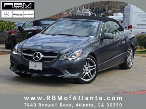 Certified Pre-Owned 2014 Mercedes-Benz E-Class E 350 RWD Convertible