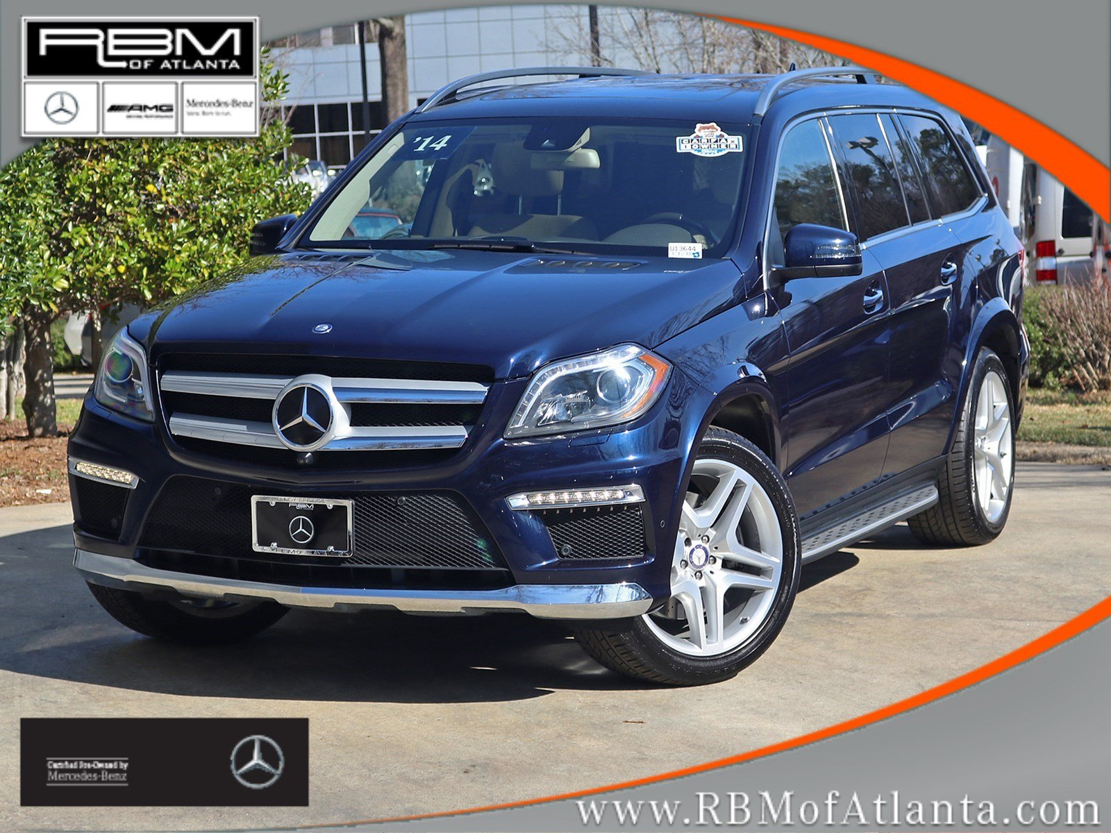 Certified pre owned 2014 mercedes benz gl class gl 550 for Mercedes benz 550 gl