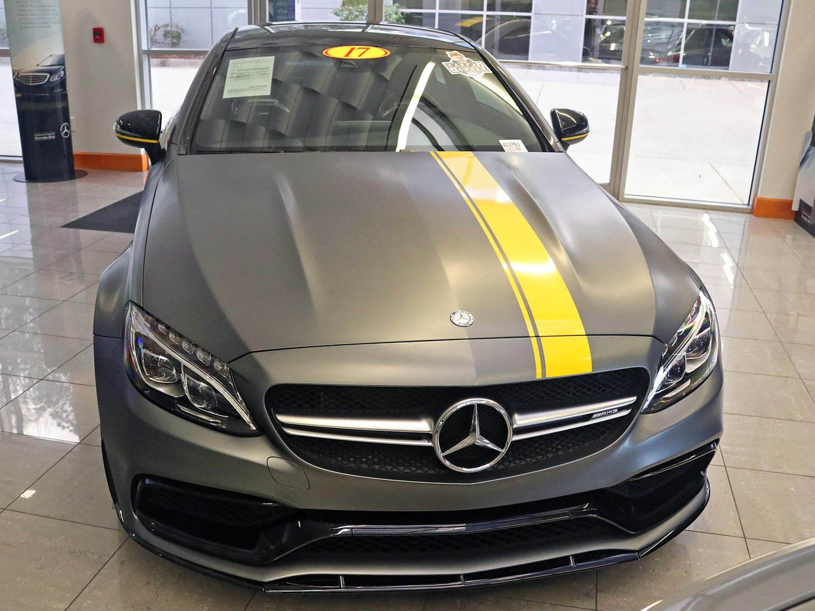 Pre owned 2017 mercedes benz c class amg c 63 s 2dr car for Mercedes benz of south atlanta service coupons