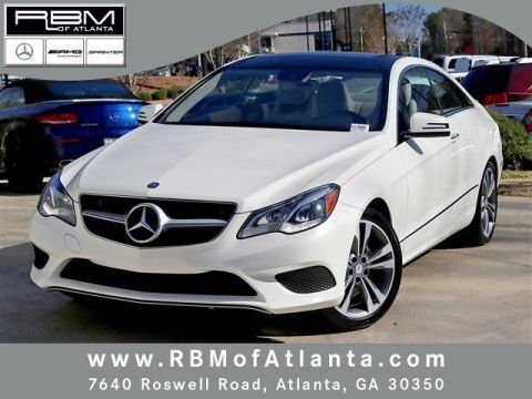 Certified pre owned 2014 mercedes benz e class e 350 sport for Mercedes benz roswell road