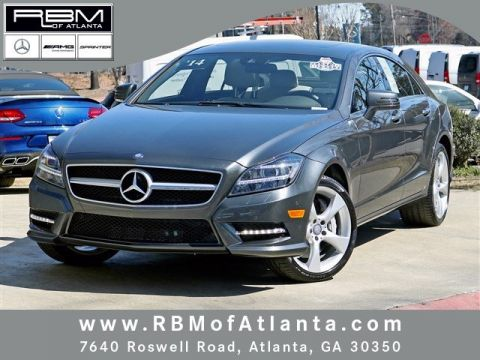 Certified pre owned 2014 mercedes benz cls cls 550 coupe for Mercedes benz roswell road